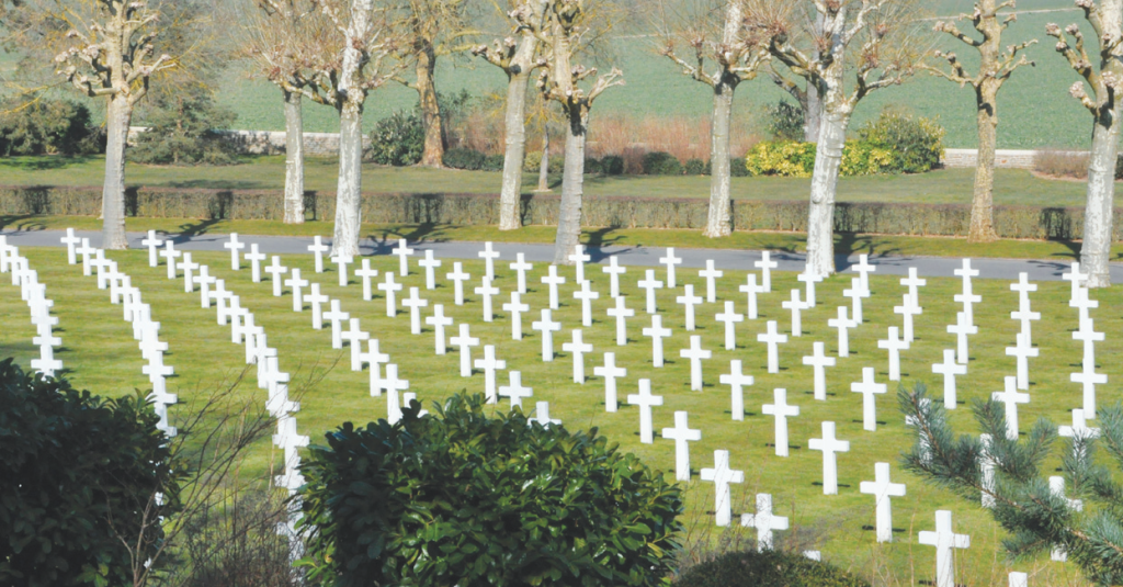 US Cemetery at Aisne-Marne, France